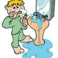 A administração recebeu a primeira conta de água, após a instalação do bloqueador de ar.