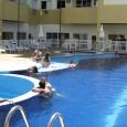 A equipe de manutenção, em parceria com a Rio Lince, realizará a reforma do deck da piscina.